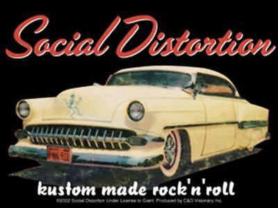 Social Distortion Car Kustom Made STICKER - Decal Music Band Album Art SE117