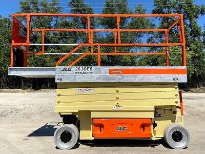 2008 Jlg 2630es Electric Scissor Lift Aerial Lift 800lb Capacity Jlg Lift