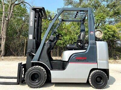 2015 Nissan Map1f2a25lv Pneumatic Forklift 5000lb Capacity Hi Lo Lift Truck
