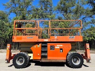 Jlg 3394rt All Terrain Scissor Lift 4wd Deutz Diesel Engine Jlg Platform Lift