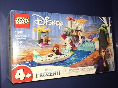 LEGO Disney Frozen 2 Anna's Canoe Expedition 41165 Ages 4+ 108Pcs