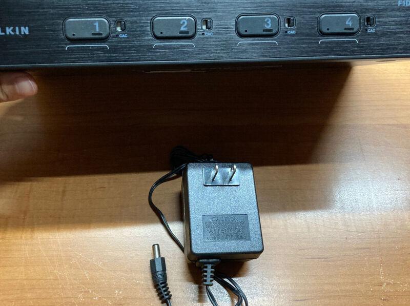 Belkin Secure 4-Port DVI-KVM w/ Audio