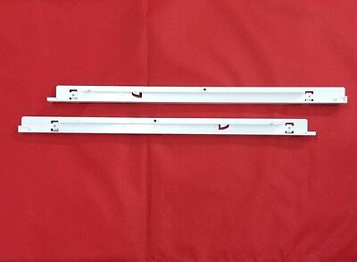 (2-Set ) 240530601 240530701 Track Rail  Compatible with Frigidaire Refrigerator