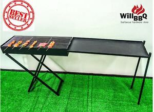 WillBBQ All Style Stainless Foldable BBQ Grill from $38 Melbourne CBD Melbourne City Preview