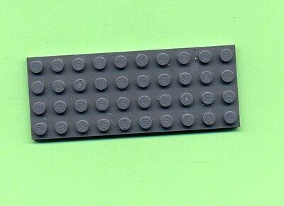 LEGO 3030 GRUNDPLATTE BAUPLATTE GRAU DKSTONE 4 X 10