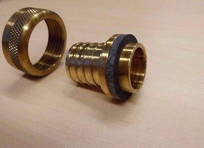 Mxsa5 Lot Of 29 - Pex Access. Manabloc Insert Brass Adapter 1 - Plumbing