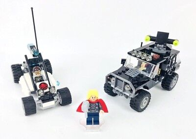 Lego Marvel Avengers Hydra Showdown Super Heroes Set 76030 100% Complete No Box
