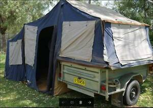 2007 Oztrail Camper 12 Trailer Manilla Tamworth Surrounds Preview