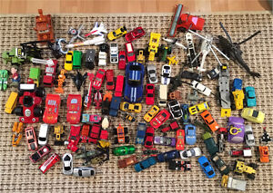 Cars, Trucks, Planes, Helicopters, etc