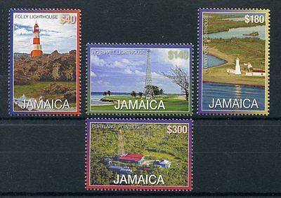 Jamaica 2016 MNH Lighthouses Definitives New Values 4v Set Lighthouse Stamps