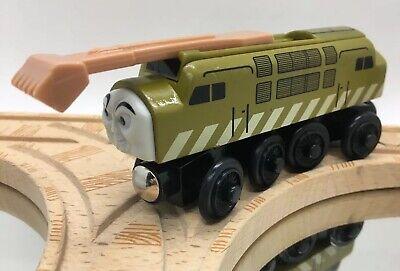 Thomas Wooden Railway Diesel 10 2000 Allcroft SLIDING CLAW Vintage Train Set