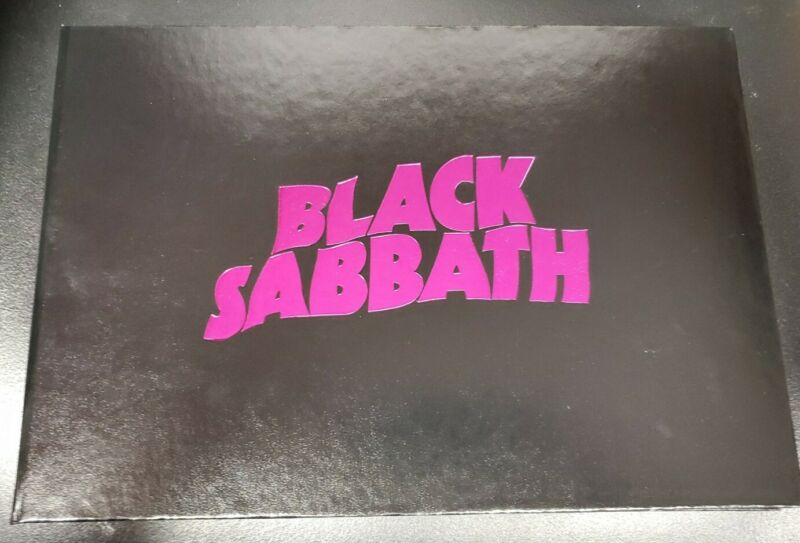 BLACK SABBATH THE END VIP TOUR BOOK-(Ozzy Osbourne)- Limited RARE-New!