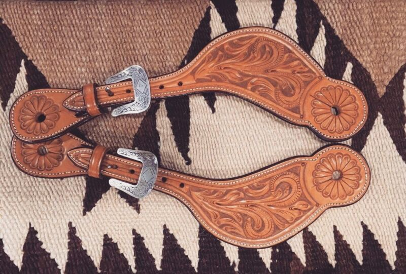 Edward H. Bohlin Spur straps Buckles Straps Saddle Horse Leathers
