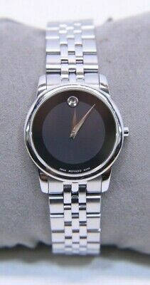 Movado 07.3.14.1143 Ladies Museum Stainless Steel Watch - Free Shipping