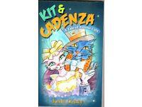 Kit & Cadenza - Book for cat-lovers everywhere. Beautifully illustrated and full of naughty bits!