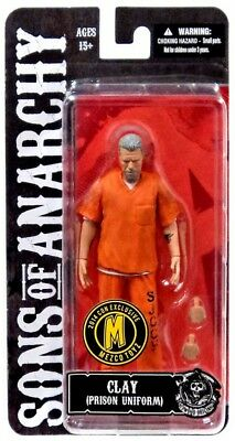 Sons Of Anarchy Outfits (Sons of Anarchy Clay Morrow Exclusive Action Figure [Orange Prison)