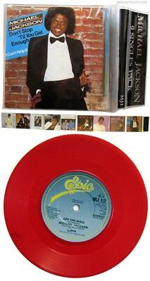 RAREST Michael Jackson  Full Limited Edition 9 Singles Pack (NEW red vinyl)