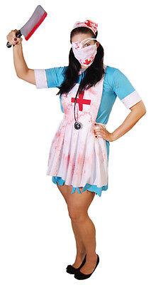 Halloween-Scary-Horror-Evil-Creepy-Zombie Krankenschwester Kostüm Alle