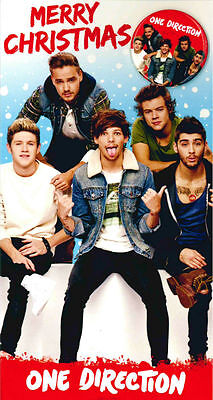 ONE DIRECTION - MERRY CHRISTMAS - FREE BADGE - CH0061