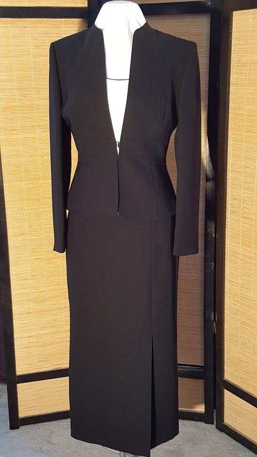Ladies black petite suit #5