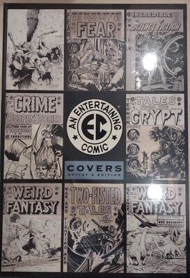 EC COVERS ARTIST EDITION IDW PUBLISHING / 140 COVERS 15 X 22 / NEW-SEALED 2021