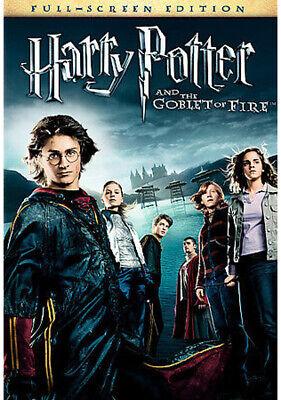 Harry Potter and the Goblet of Fire (DVD, 2006, Full Frame)