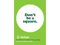 Open Audition for IMMEDIATE START Charity Jobs at OXFAM! £300+ p/wk