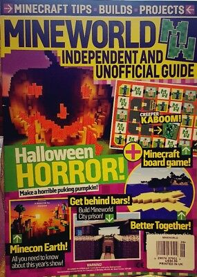 Mineworld Independent & Unofficial Guide UK Issue 26 Halloween FREE SHIPPING - Uk Holidays Halloween