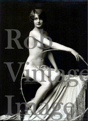 New York City Photo Flapper Barbara Stanwyck NUDE Ziegfeld Follies 1920s   8x10