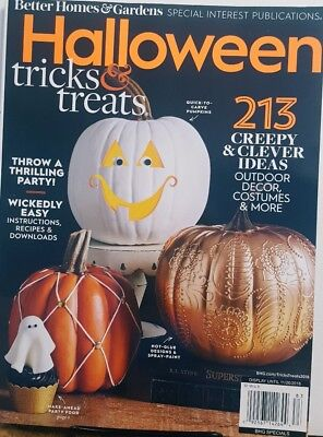 Better Homes & Gardens Halloween Tricks & Treats 2018 FREE SHIPPING CB](Better Homes And Gardens Halloween Treats)