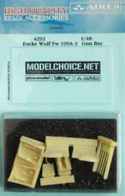 Aires 1:48 Fw 190 A-3 Gun Bay for Tamiya Kit Resin Update 4292