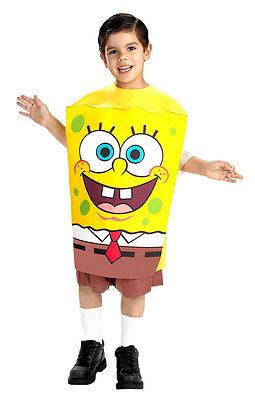 Spongebob Squarepants Costume- Toddler/X-Small ( Size  3T-4T )
