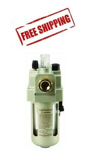 3/8 In Line OILER Flow LUBRICATOR Air Compressor Tools Fog Lubricator 3/8