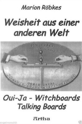 Oui-Ja Witchboard Talking Boards Hexenbrett Anleitung