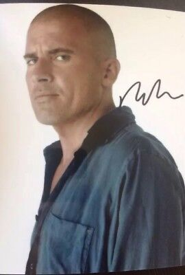 Prison Break  Signed Printed Photo Dominic Purcell 6x4