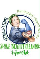 Shine Bright cleaning