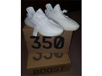Triple White Adidas Yeezy Boost 350 Yeezys
