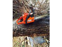 Husqvarna Chainsaw hardly used not Stihl