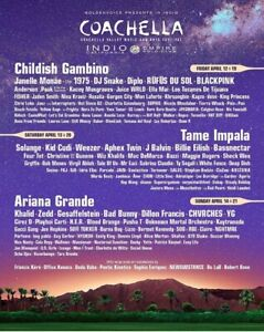 Coachella Weekend 2 (April 19-21) tickets with Shuttle