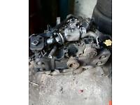 Subaru 2.0 turbo engine