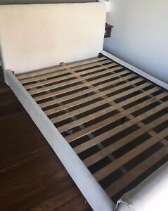 Freedom Sleigh Double bed with mattress Plumpton Blacktown Area Preview