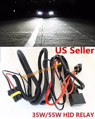 9005 Hid Conversion Kit - Xenon HID Conversion Kit Relay Wiring Harness H1 H8 H11 HB4 9005 9006 9140 9145