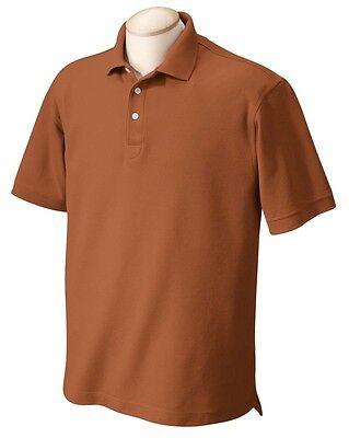 Mens Size 4xl 5xl 6xl Performance Plus Pique Golf Polo Sport Shirts Xxxxxxl