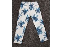 Joules summer trousers size 10
