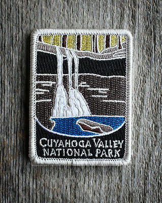 Cuyahoga Valley National Park Souvenir Patch Traveler Series Iron-on Ohio