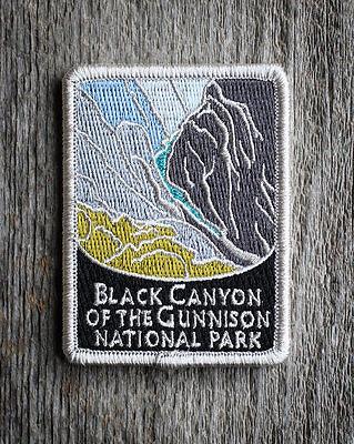 Black Canyon of the Gunnison National Park Patch Traveler Series Colorado