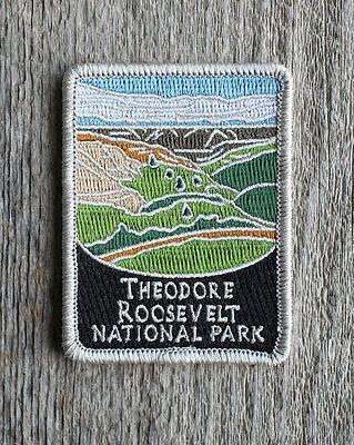 Theodore Roosevelt National Park Souvenir Patch Traveler Series North Dakota