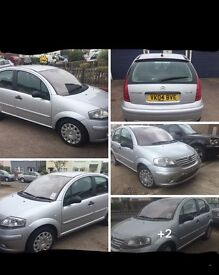 04 plate silver citreon c3 mk1 1.4 i petrol