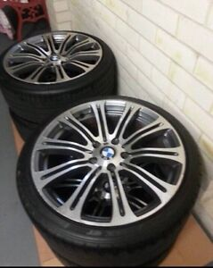 4 x 19 inch BMW M3 wheels with 80% tread on tyres Narellan Camden Area Preview