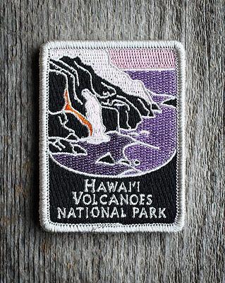 Hawaii Volcanoes National Park Souvenir Patch Traveler Iron-on Series